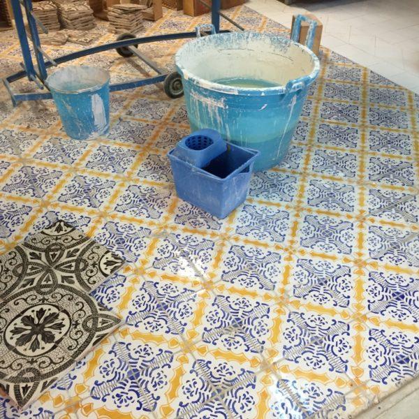 Italian Tile Floor