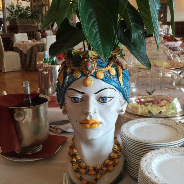 Sicilian Head Planter