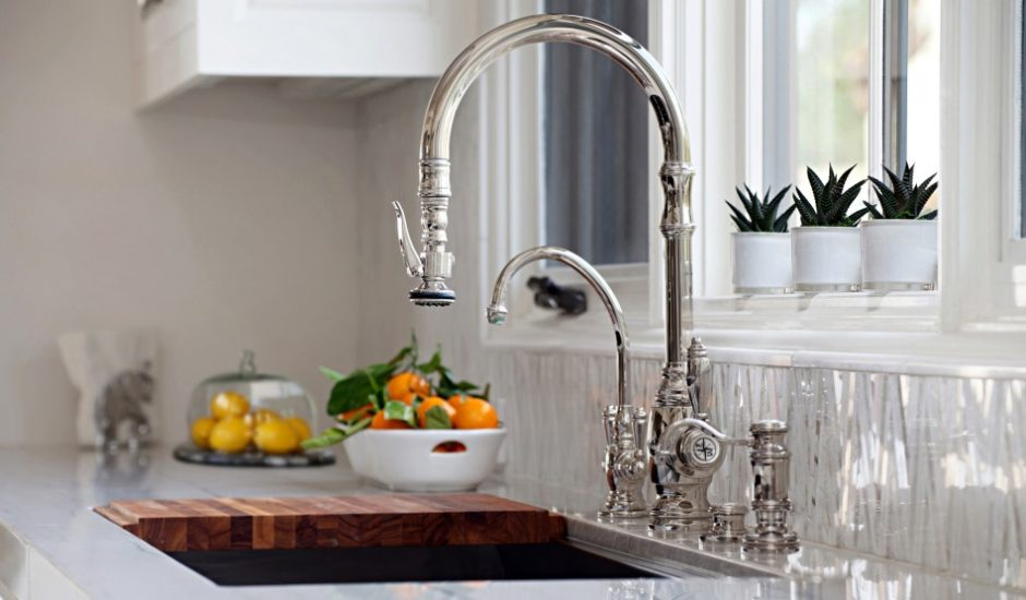 waterstone faucets are handmade and beautiful
