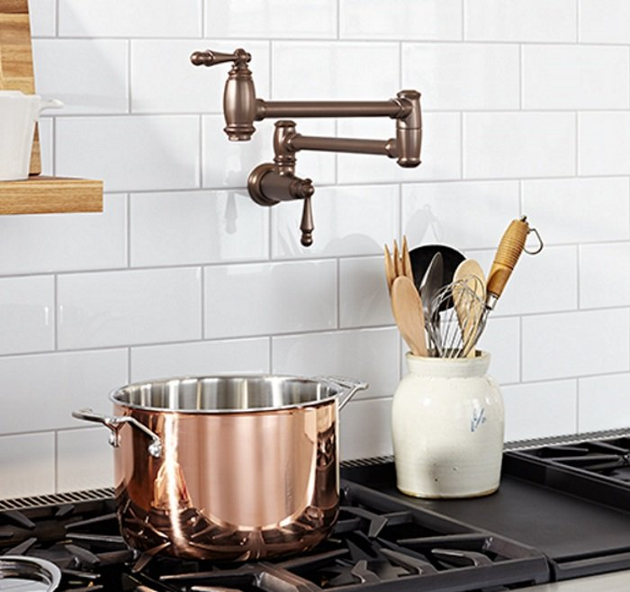 5 Reasons To Have a Pot Filler For Your Stove