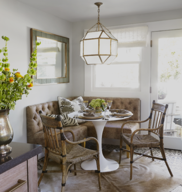 Dark Filter: 5 Breakfast Nooks Designers LoriGilder RebeccaReynolds KDN Photo MichelleDrewes